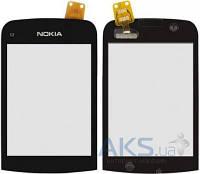 Сенсор (тачскрин) для Nokia C2-02, C2-03, C2-06, C2-07, C2-08 Original Black
