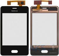Сенсор (тачскрин) для Nokia Asha 501 Black