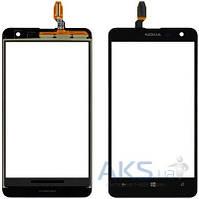 Сенсор (тачскрин) для Nokia Lumia 625 Black