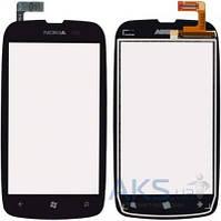 Сенсор (тачскрин) для Nokia Lumia 610 Black