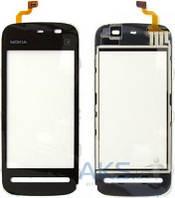 Сенсор (тачскрин) для Nokia 5228, 5230, 5233, 5235 Black