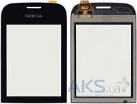 Сенсор (тачскрин) для Nokia Asha 202, Asha 203 Black