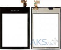 Сенсор (тачскрин) для Nokia Asha 300 Black