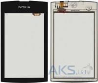 Сенсор (тачскрин) для Nokia Asha 305, Asha 306 Black