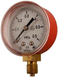 Манометр для газового редуктора