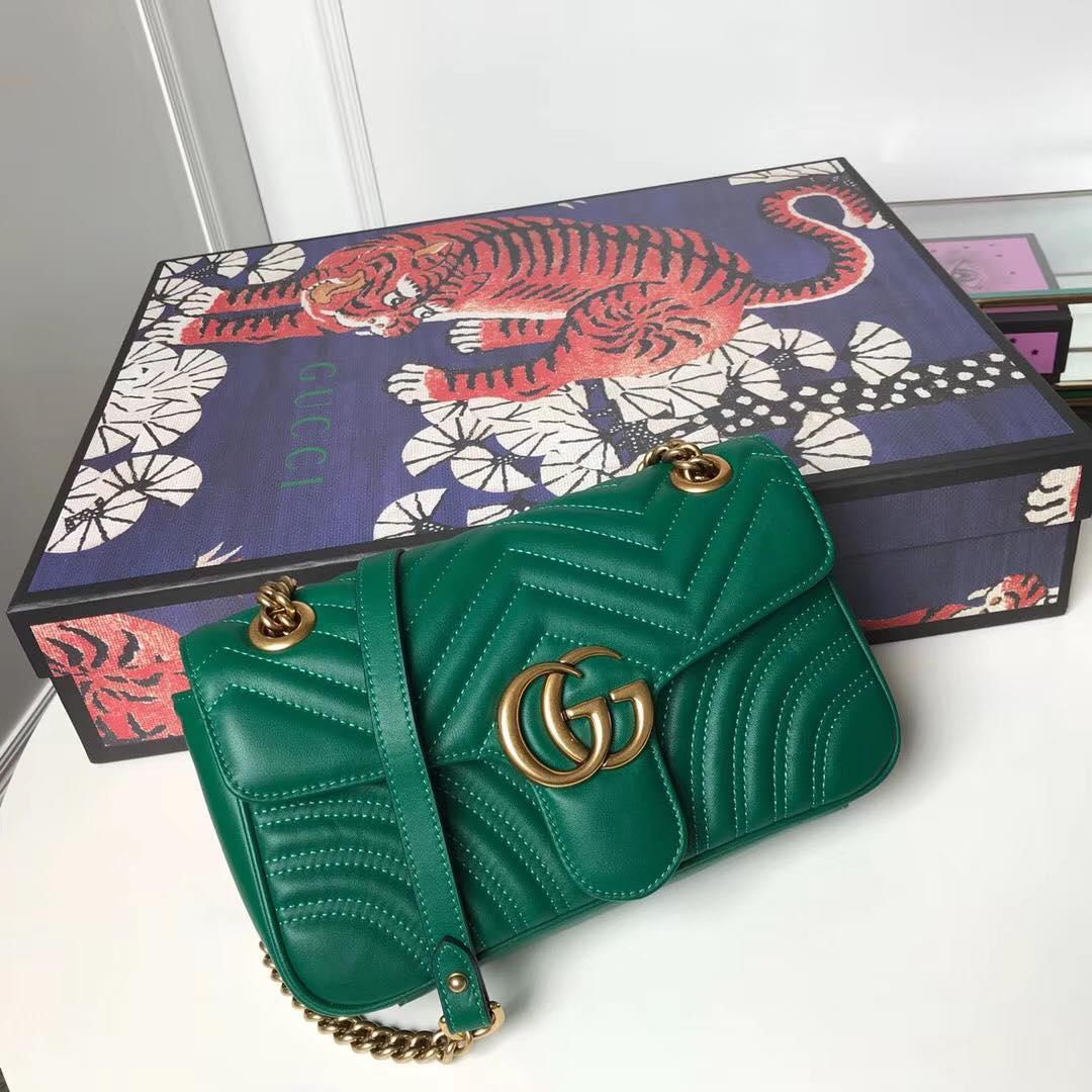 Мини-сумка GG Marmont