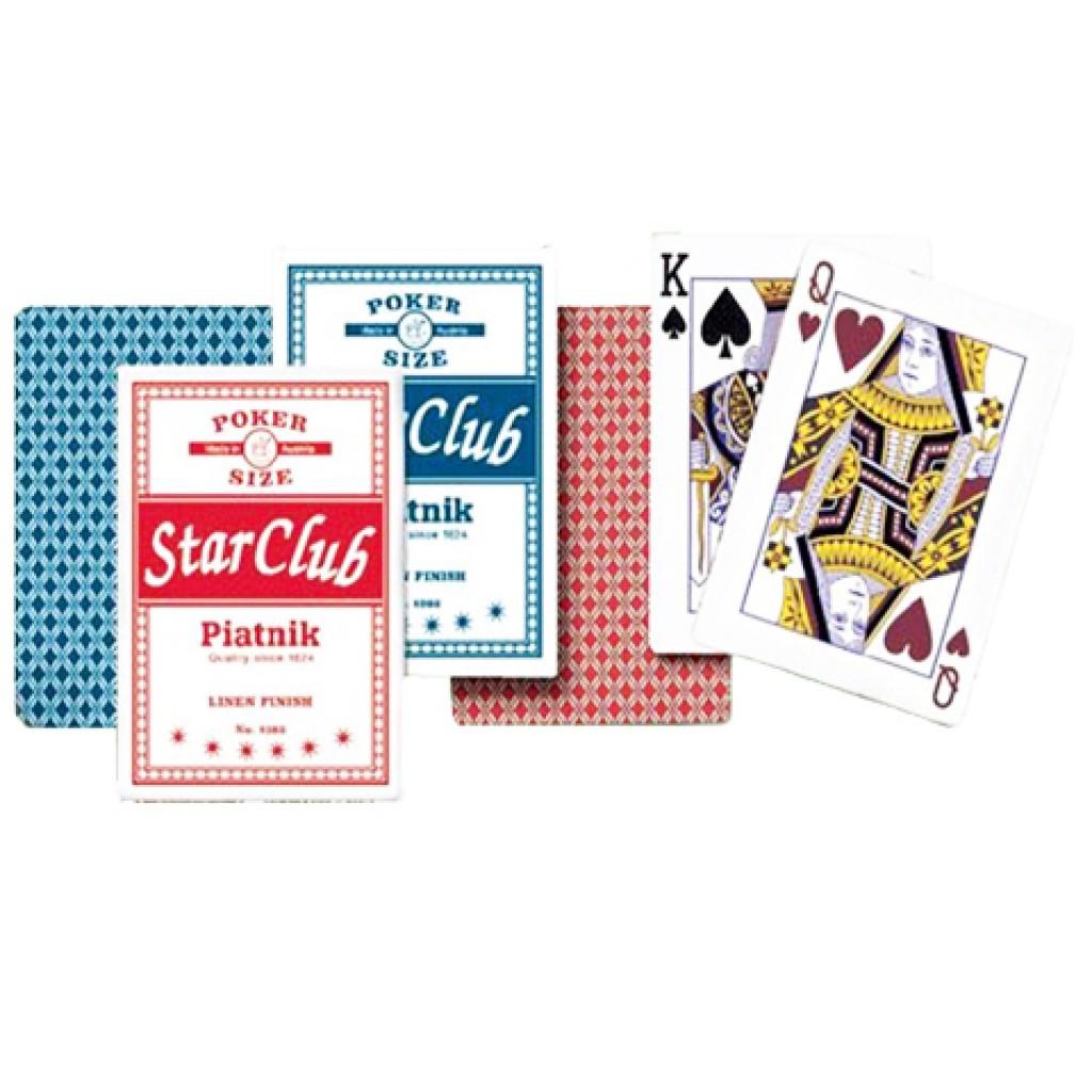 Игральные карты Клуб Стар 1382-1612, 55 листов