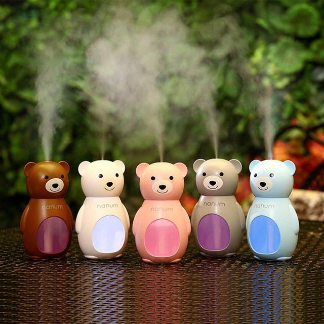 Увлажнитель воздуха  Медвежонок коричневый Nanum, фото 4