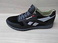 Подростковые кожаные кроссовки Reebok (реплика), фото 1