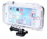 Подводный чехол аквабокс Hamtod для Apple iPhone 6 Plus / 6s Plus - Gold, фото 2
