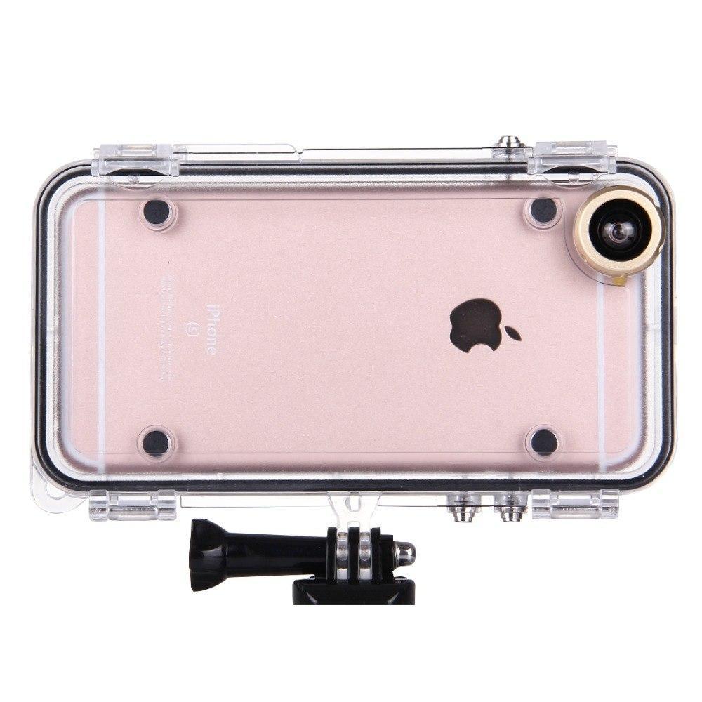 Подводный чехол аквабокс Hamtod для Apple iPhone 6 Plus / 6s Plus - Gold