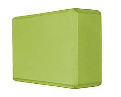 Блок для йоги SportVida SV-HK0151 Green