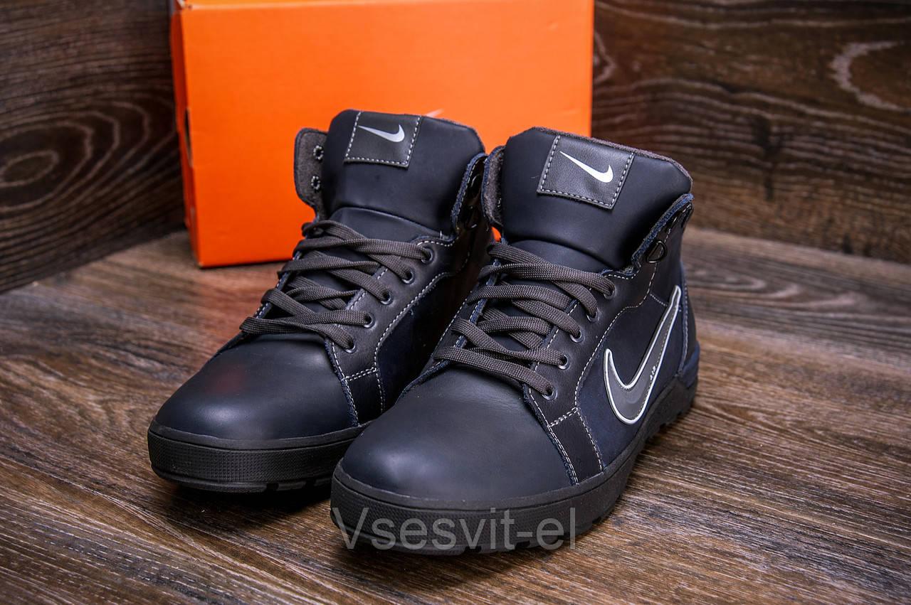 d6ece47b Мужские зимние кожаные ботинки Nike Anti-Core (реплика), цена 996 грн.,  купить в Киеве — Prom.ua (ID#825652608)