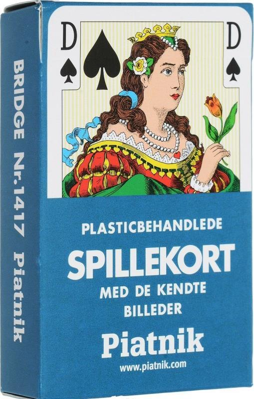 Игральные карты Piatnik Danish, 55 листов 1417-1612