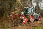 Мульчер лесной, измельчитель деревьев, лесной измельчитель, измельчитель пней  TFVMFD, фото 8