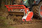 Мульчер лесной, измельчитель деревьев, лесной измельчитель, измельчитель пней  TFVMFD, фото 9