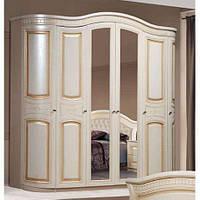 Шкаф 6-х дверный Венера СлонимМебель белый, орех