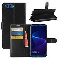 Чехол-книжка Litchie Wallet для Huawei Honor 10 Черный