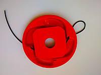 Катушка-шпуля с леской для триммеров и мотокос красная