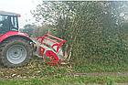 Мульчер лесной, измельчитель деревьев, лесной измельчитель, измельчитель пней  TFMF, фото 7