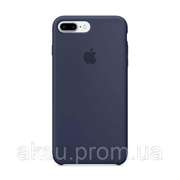 Чехол Silicone case для iPhone 7Plus / 8Plus Midnight Blue