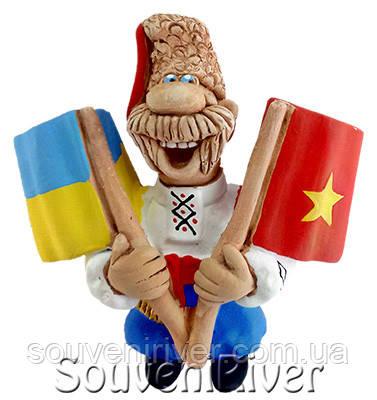 """Сувенирный магнит """"Украина - Вьетнам"""""""