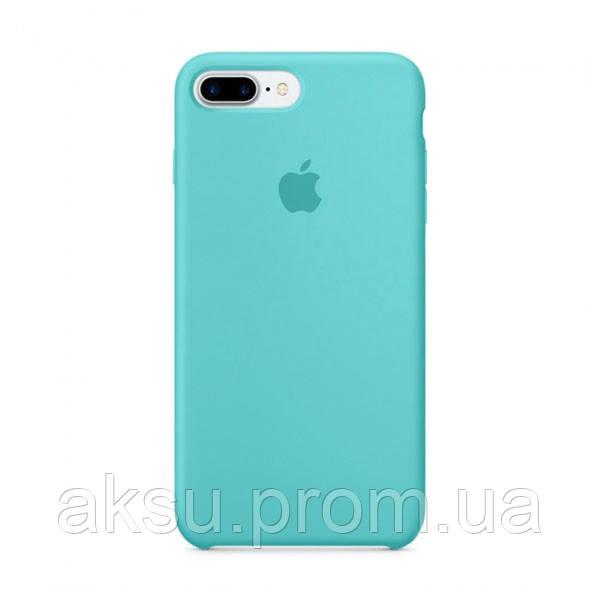 Чехол Silicone case для iPhone 7Plus / 8Plus Sea Blue