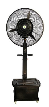 Вентилятор - увлажнитель напольный ENSA. Мобильная система охлаждения воздуха для открытых мест отдыха