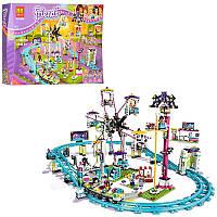 """Конструктор Friends """"Парк развлечений: Американские горки"""" 1136 деталей ( Bela 10563/Lepin 01008)"""