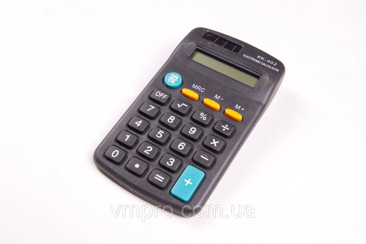 Калькулятор №KK-402, кишеньковий, 8 розрядний, калькулятори електронні