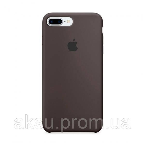 Чехол Silicone case для iPhone 7Plus / 8Plus Cocoa