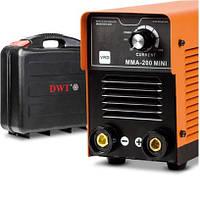 Сварочный инвертор DWT ММА-200 MINI BMC