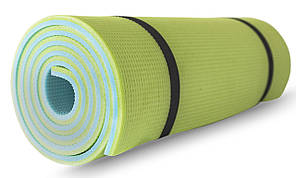 Коврик туристический (каремат) SportVida XPE 1 см Blue/Green