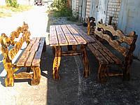 Комплект деревянной мебели 020
