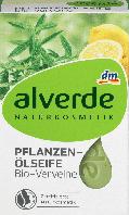 Органическое мыло alverde NATURKOSMETIK Pflanzenöl Bio-Verveine, 100 г., фото 1