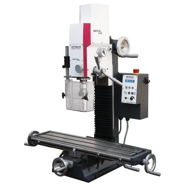 Настольный фрезерный станок по металлу Оптимум MH22 V