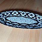 Узбецька сільодниця, узбекская овальная тарелка, фото 3