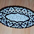 Узбецька сільодниця, узбекская овальная тарелка, фото 2