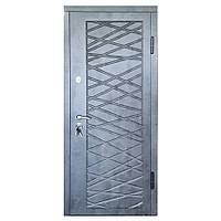 Дверь входная «Министерство дверей»— П-3К-116  Декор 4D Мрамор темный, фото 1