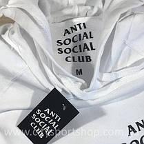 """Толстовка с принтом A.S.S.C. """"Antisocial social club""""(размер S), фото 2"""
