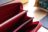 Гаманець Луї Вітон, Louis Vuitton monogram, шкіра, колір червоний, фото 2