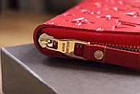 Гаманець Луї Вітон, Louis Vuitton monogram, шкіра, колір червоний, фото 3
