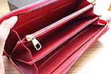 Гаманець Луї Вітон, Louis Vuitton monogram, шкіра, колір червоний, фото 4