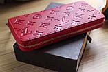 Гаманець Луї Вітон, Louis Vuitton monogram, шкіра, колір червоний, фото 5