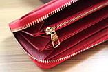 Гаманець Луї Вітон, Louis Vuitton monogram, шкіра, колір червоний, фото 8