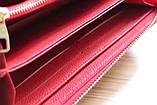 Гаманець Луї Вітон, Louis Vuitton monogram, шкіра, колір червоний, фото 9