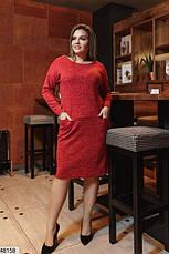 Платье женское демисезонное черное размеры: 50-62, фото 3
