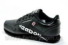 Кроссовки мужские в стиле Reebok Classic Leather, Alter the Icons, Black, фото 3