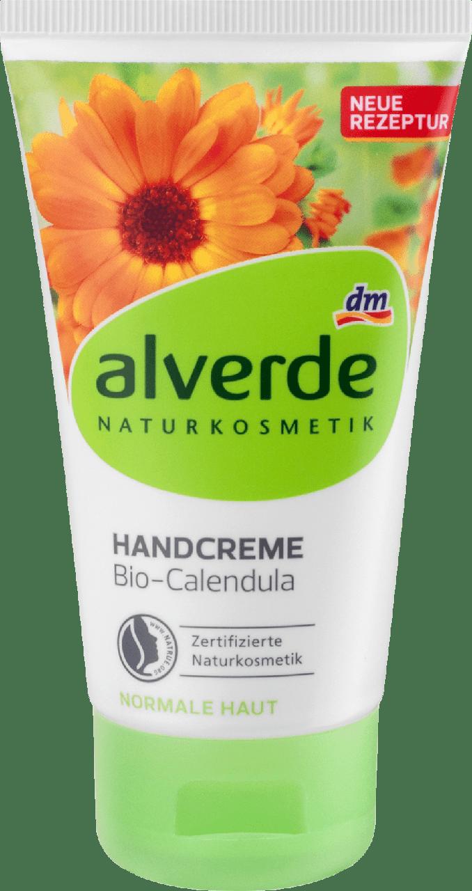 Органический крем для рук alverde NATURKOSMETIK Calendula, 75 ml