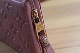 Гаманець Луї Вітон, Louis Vuitton monogram, шкіра, колір рожевий, фото 3
